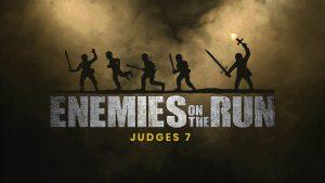 Enemies on the run